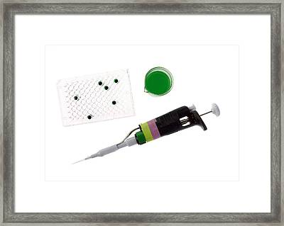 Cell Culture Equipment Framed Print by Natural History Museum, London