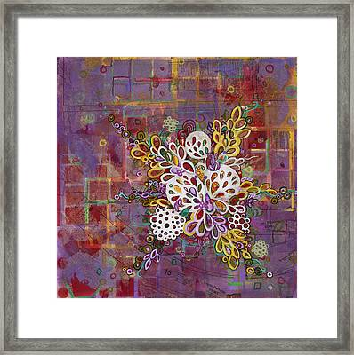Cell No.16 Framed Print by Angela Canada-Hopkins