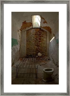 Cell Room Framed Print