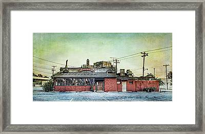 Cellar Anton's Italian Cafe Framed Print