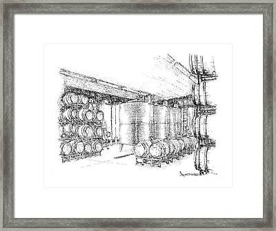 Cellars Of Marynissen Winery Framed Print