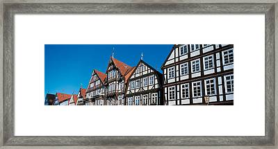 Celle Niedersachsen Germany Framed Print by Panoramic Images