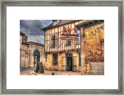 Cellier St. Pierre Troyes France Framed Print by Malu Couttolenc