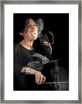 Cellist Framed Print