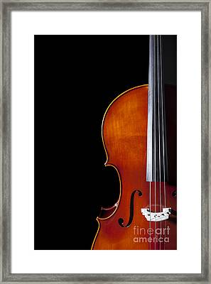Cello Framed Print by Diane Diederich