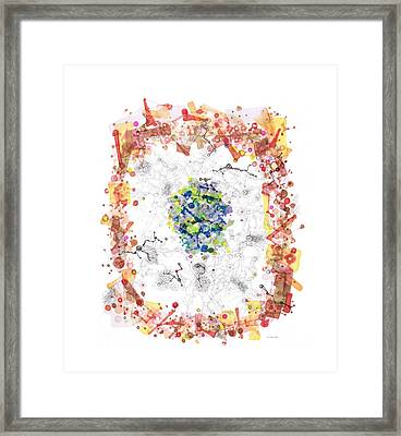 Cellular Generation Framed Print