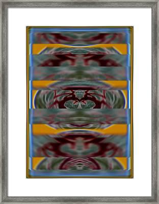 Cellular Malfunction Of Innocent Arrogance 2015 Framed Print by James Warren