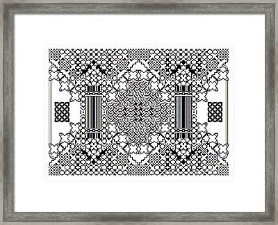 Celtic Builder Framed Print