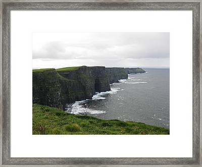Celtic Cliffs Framed Print