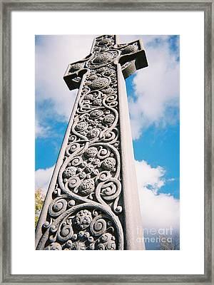 Art Nouveau Celtic Cross I Framed Print