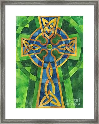 Celtic Cross Framed Print by Mark Jennings