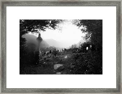 Celtic Graveyard Framed Print