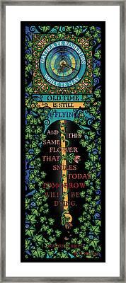 Celtic Impermanence Framed Print