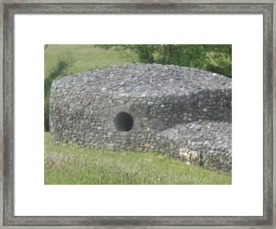 Celtic Kiva Framed Print