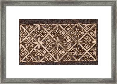 Celtic Knot 2 Framed Print