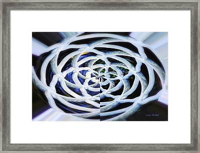 Celtic Knot Framed Print by Donna Blackhall