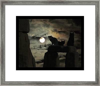 Celtic Nights Framed Print