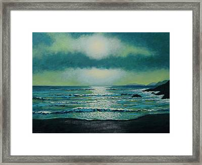 Celtic Twilight Framed Print by John  Nolan