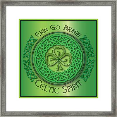 Celtic Spirit Framed Print by Ireland Calling