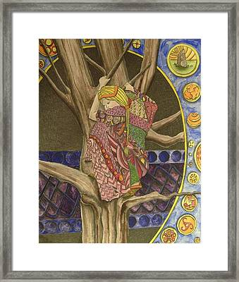 Celtic Tree II Framed Print by Mark Greenhalgh