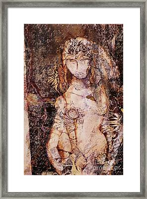 Celtic Vessel Framed Print by Charles B Mitchell
