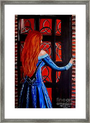 Celtic Woman Framed Print