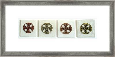 Celtictrado Framed Print by Flow Fitzgerald