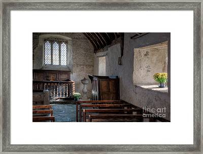 Celynnin Church Framed Print by Adrian Evans