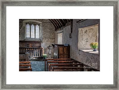 Celynnin Church V2 Framed Print by Adrian Evans