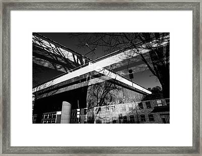 Cement Foundations Framed Print
