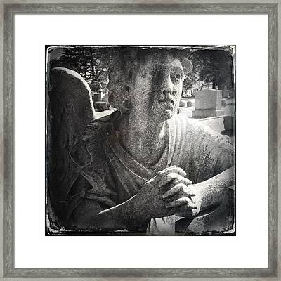 Cemetary  Framed Print by H James Hoff