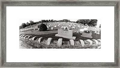 Cemetery  Fayettville Tennessee Framed Print by   Joe Beasley