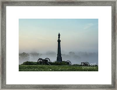 Cemetery Hill Gettysburg  Framed Print by John Greim