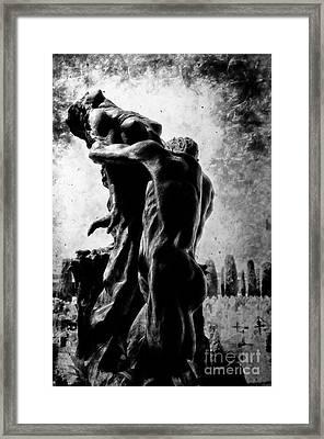Cemetery Of Verona Framed Print