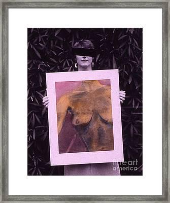 Censored Artist Framed Print