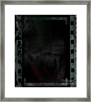 X-censored Framed Print