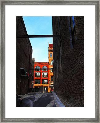 Centanni Framed Print by David Blank