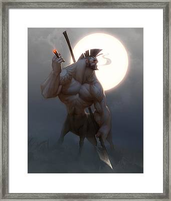 Centaur Framed Print by Adam Ford