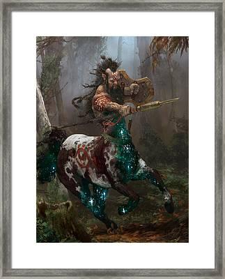 Centaur Token Framed Print