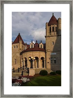 Centenary Methodist Church In New Bern Nc Framed Print