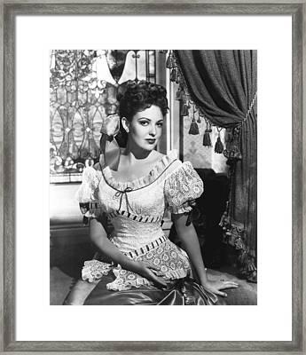 Centennial Summer, Linda Darnell, 1946 Framed Print by Everett