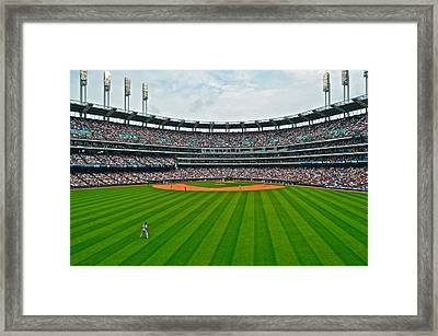 Center Field Framed Print by Frozen in Time Fine Art Photography