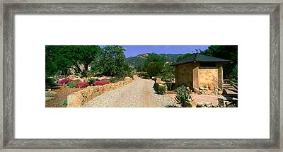Center For Earth Concerns, Ojai Framed Print by Panoramic Images