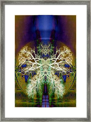 Center Of The Universe Framed Print by Jan Amiss Photography