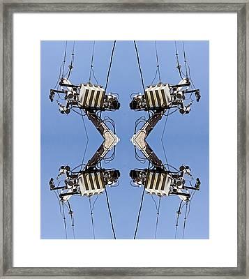 Center Of Your Artificial Heart 2013 Framed Print by James Warren
