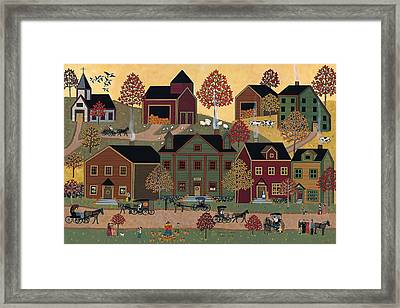 Center Street Framed Print by Medana Gabbard