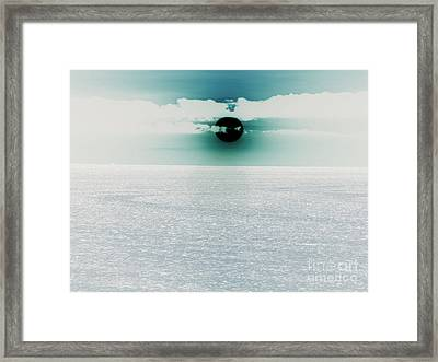 Center Sun Framed Print