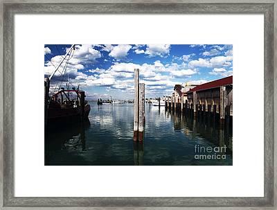 Centered Framed Print by John Rizzuto