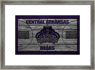 Central Arkansas Bears Framed Print by Joe Hamilton