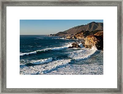 Central Coastal California 2.2609 Framed Print by Stephen Parker